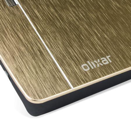 Aluminium Bumpermirror Back Cover Lg G4 Gold olixar aluminium lg g4 shell gold