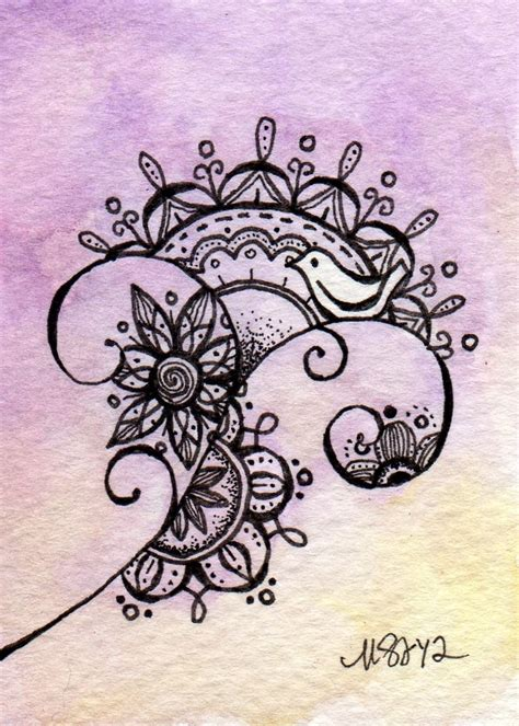 would make a cool tattoo by melissa johnson doodle