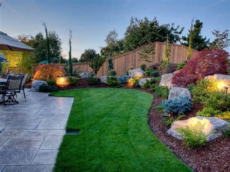 backyard landscape design ideas  pinterest