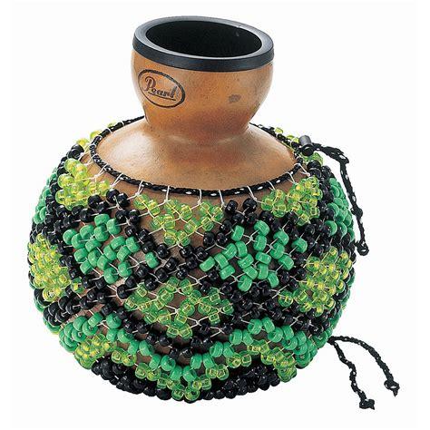 beaded gourd instrument shekere