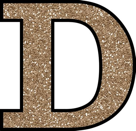 The D A letter d png images free