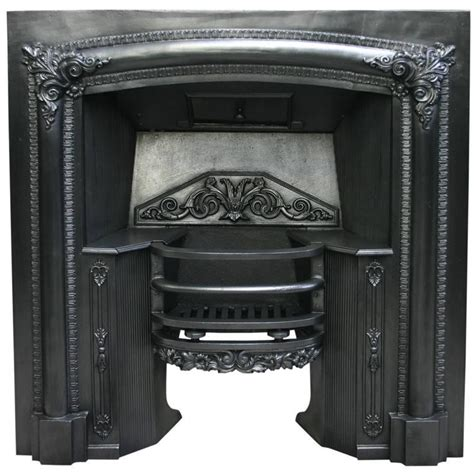 Fireplace Grate Front by Antique Regency Cast Iron Fireplace Grate For Sale At 1stdibs