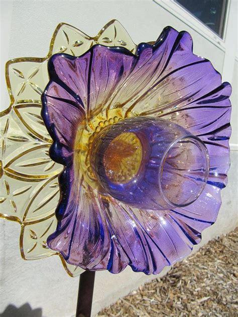 best 25 glass flowers ideas on plate flowers