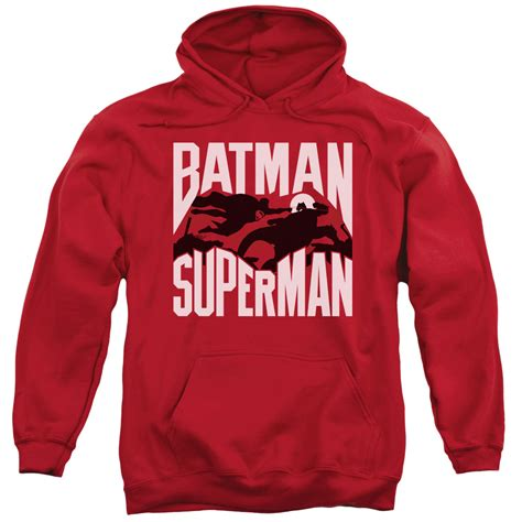 Hoodie Batman V Superman 2 batman v superman silho fight pullover hoodie