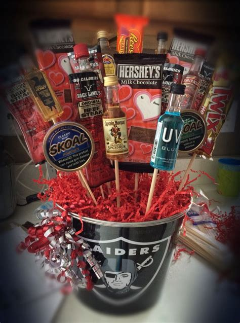 liquor valentines gifts bouquet liquor tobacco in a