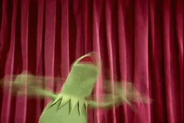 Yay Some Excitement 2 by Excited Kermit Gif Wifflegif