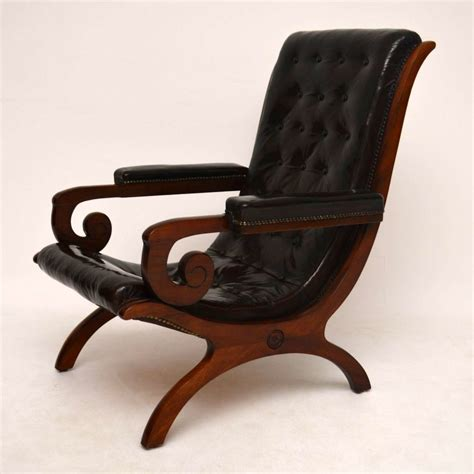 antique leather armchair antique leather mahogany armchair marylebone antiques