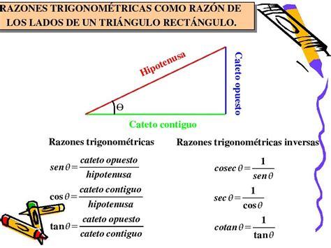 desde un barco un observador determina funciones trigonom 233 tricas definiciones trigonometria