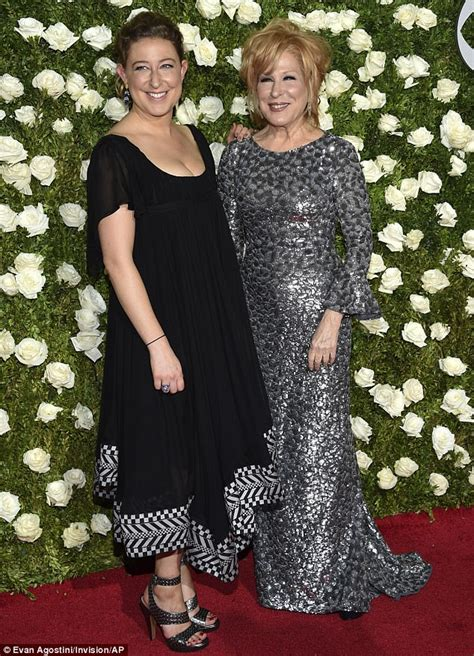 bette midler family tony awards bette midler attends with