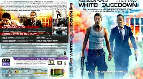 white house down 2 jaquette dvd de white house down custom blu ray v2 cin 233 ma passion