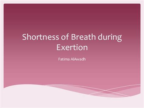 shortness of breath after c section dyspnea