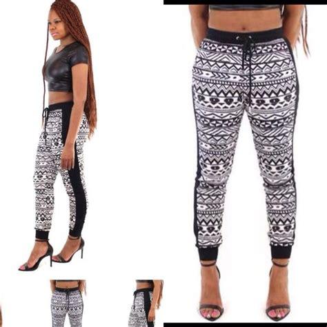 aztec pattern joggers pants aztec tribal pattern tribal leggings joggers
