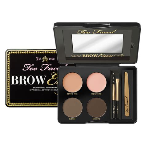 Eyebrow Kit brow envy kit for defined brows faced mecca