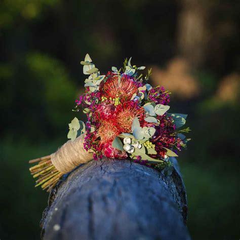 Native bouquets for Australian brides