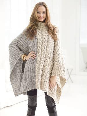 free poncho knitting patterns adults knitting patterns galore chatsworth cable poncho