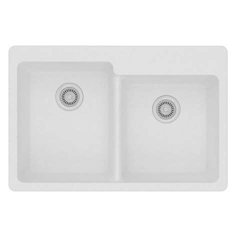 kohler delafield cast iron sink kohler delafield drop in cast iron 33 in 4