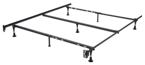 bed frame with center support image is loading inst a lift metal slat bed