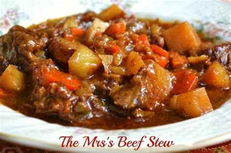 beef stew in the crock pot recipe dishmaps