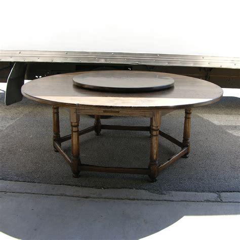 circular oak dining table vintage oak circular dining table antiques