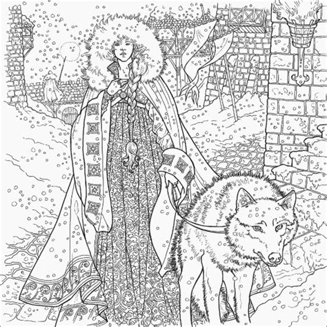Pdf Official Thrones Coloring Book by Of Thrones Coloring Book