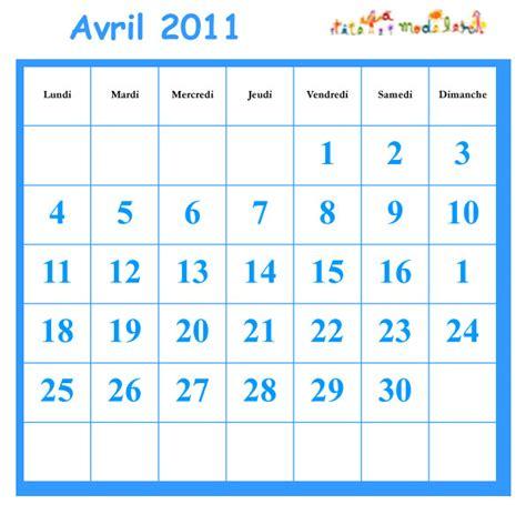Calendrier Avril 2010 Cocher Les Jours Du Calendrier Avril 2010 T 234 Te 224 Modeler
