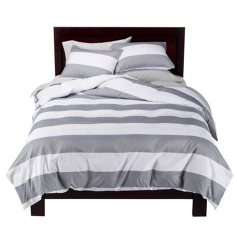 target white comforter new bed spread grey and white over sized striped duvet