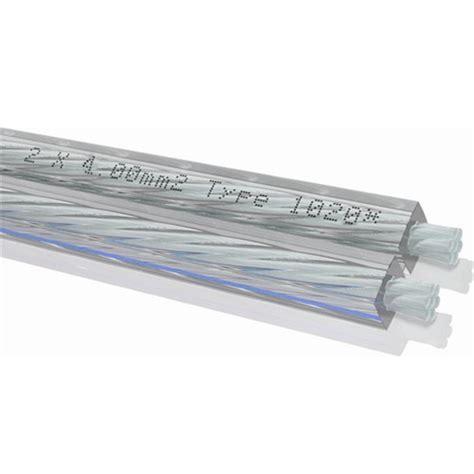 Kabel Antena Tv Transparan oehlbach 1020 silverline 40 lautsprecherkabel flexibel