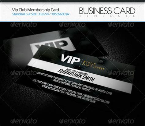 vip member card template vip membership card template by xgfxws on deviantart