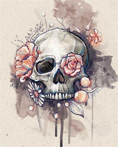 skull wallpaper pinterest best 25 skull sketch ideas on pinterest