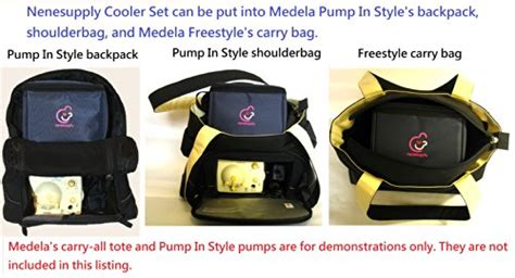 Gel Pack Pendingin Gel Pack Baby Cooler bottle cooler bag and packs for breastmilk storage can fit into medela in style carry