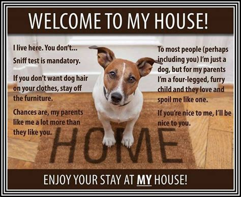 welcome to my house quotes sayings