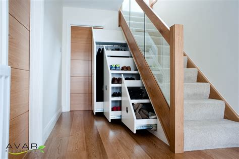 under staircase storage ƹӝʒ under stairs storage north london uk avar furniture