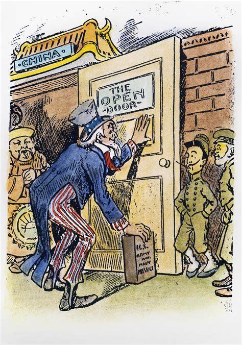 Open Door Policy quater 3 project american imperialism through political open door policy