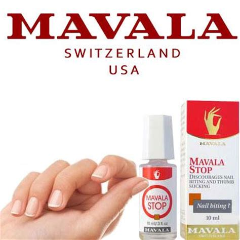 Quit The Nail Biting Habit by Mavala Stop Helps Cure Nail Biting And