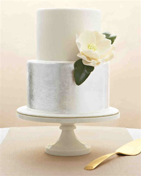 Modern Wedding Cakes by Modern Wedding Cakes Martha Stewart Weddings