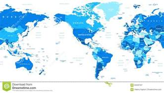 world map america in center stock vector image 63202187