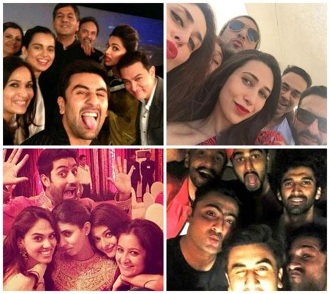 ranbirs hair line when the who s who of bollywood came together for epic