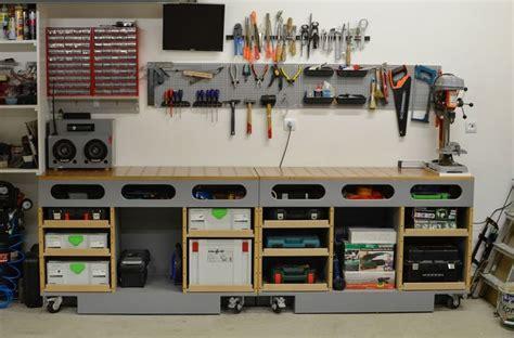 images  woodshop  pinterest workbenches