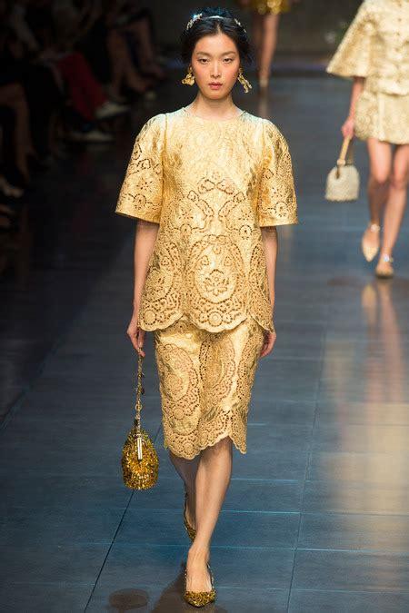 revita docce dolce gabbana primăvară 2014 săptăm 226 na modei de la