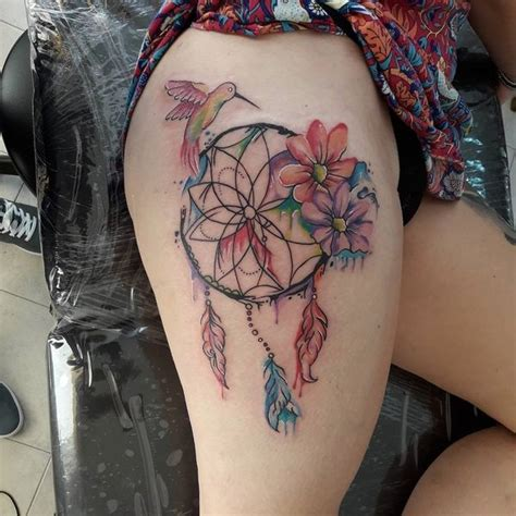 dreamcatcher tattoo birds 50 dreamcatcher tattoo best designs with meaning