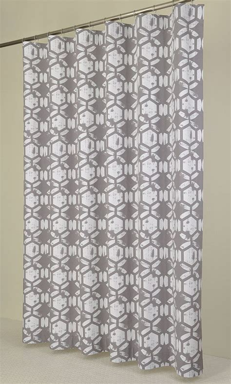 84 long shower curtains 84 long grey white shower curtain 72 x 84 long