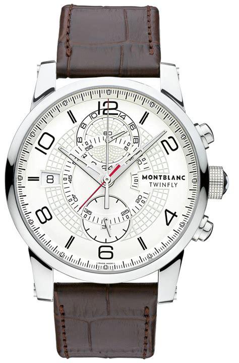 Montblanc Timewalker 109134 by Montblanc Timewalker Twinfly Chronograph 109134 Mens 43mm