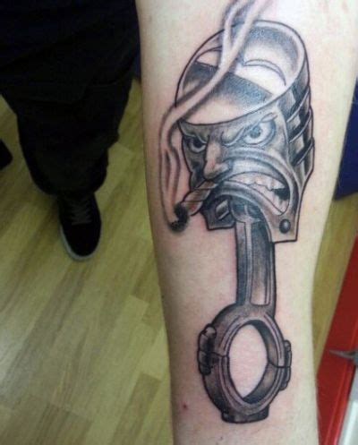 mechanic tattoos piston the 25 best mechanic ideas on