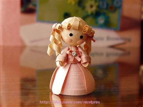 quilling design doll some of the cutest paper dolls quilling pinterest