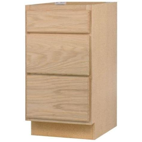 Unfinished Base Cabinets With Drawers by 24x34 5x24 In Base Cabinet With 3 Drawers In Unfinished