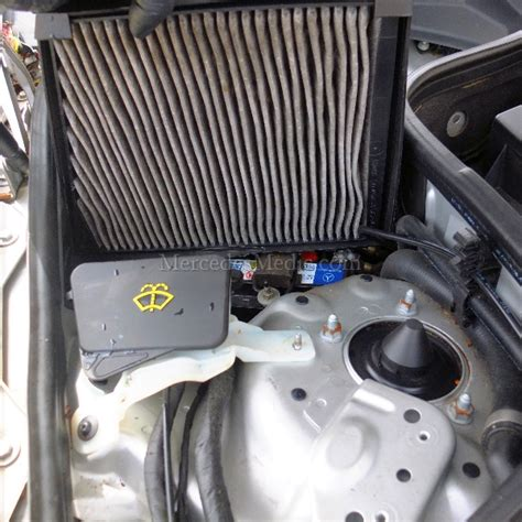 cabin air filter replacement cabin air filter replacement e class cls class