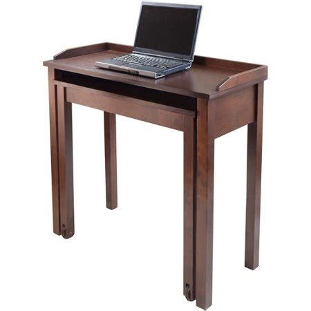 laptop desk walmart kendall rollout laptop desk antique walnut walmart