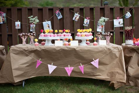 bridal shower decorations diy kaylene s backyard diy bridal shower liz and