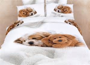 Cute Twin Comforter Sets Doggies Queen Bedding Cute Dogs Animal Print Duvet Cover