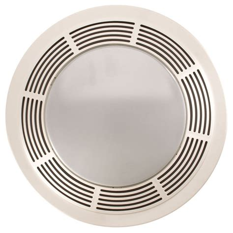 bathroom vent fan and light broan nutone round bathroom exhaust fan with light and